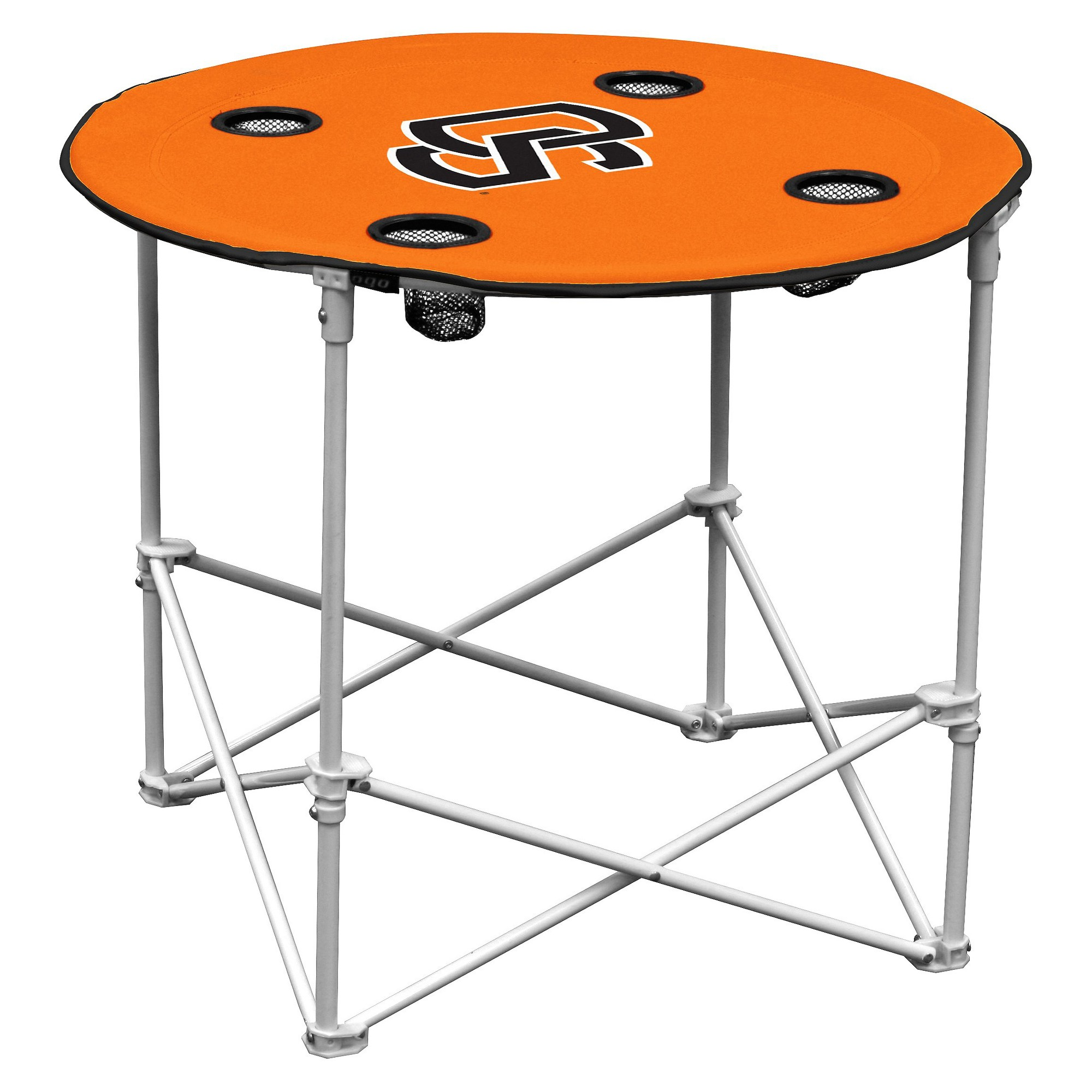 Oregon State Beavers Portable Round Table, Black