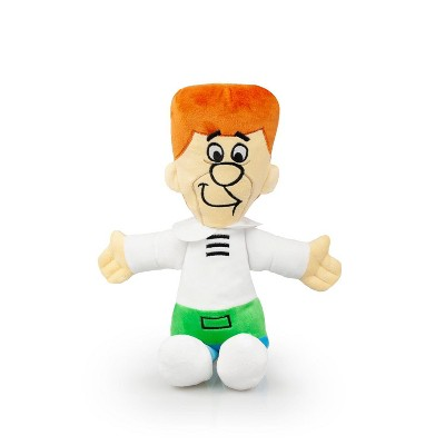 """Crowded Coop, LLC The Jetsons George Jetson 12"""" Plush Dog Toy"""