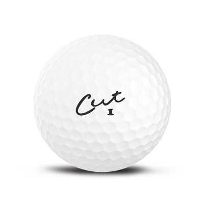 Cut Golf 12pk Matte Golf Balls - White
