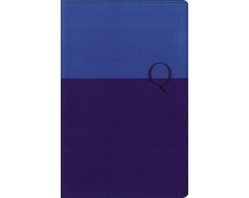 Quest Study Bible : New International Version, Blue / Blue, Italian Duo-tone, Personal Size, The - image 1 of 1