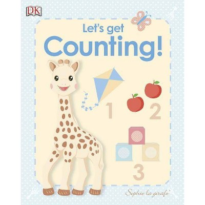 My First Sophie La Girafe: Let's Get Counting! - (Board Book)
