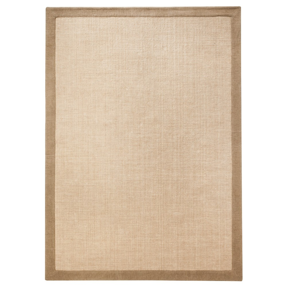 Chenille Area Rug - Light Brown (7'x10') - Threshold