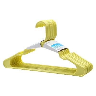 18-Pack Plastic Hangers - Yellow - Room Essentials™