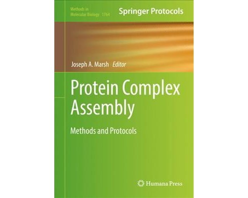 Protein Complex Assembly : Methods and Protocols -  (Hardcover) - image 1 of 1