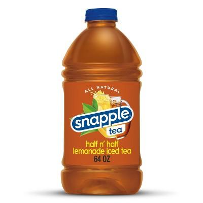 Snapple Half n' Half Iced Tea & Lemonade - 64 fl oz Bottle