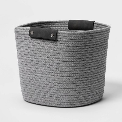 "13"" Coiled Rope Gray - Threshold™"