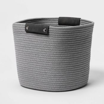 Threshold 13 Inch Decorative Coiled Rope Basket