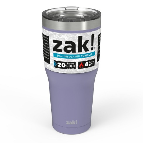 Zak Designs 30oz Double Wall Stainless Steel Tumbler - image 1 of 4