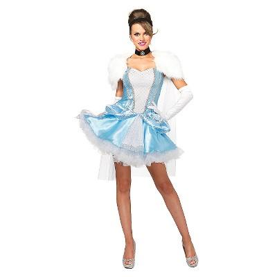 Womenu0027s Cinderella Slipperless 3pc Costume