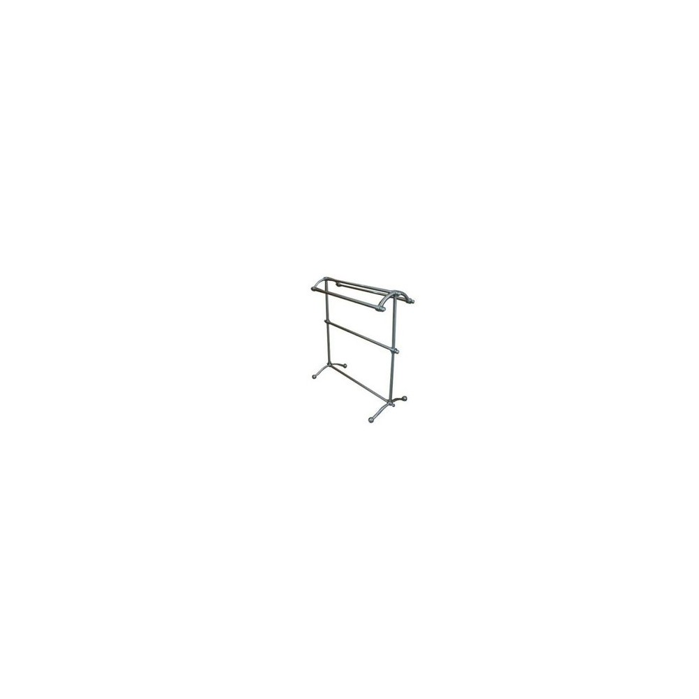 Image of Pedestal Towel Rack Satin Nickel - Kingston Brass