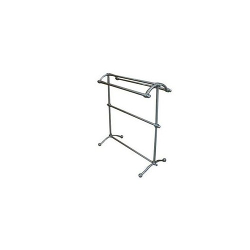 Pedestal Towel Rack Satin Nickel - Kingston Brass