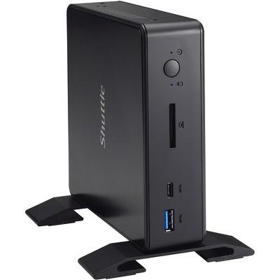 Shuttle XPC nano NC03U3 Desktop Computer - Core i3 i3-7100U - Mini PC - Black - Intel HD Graphics 620 - Wireless LAN