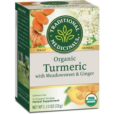 Tea Bags: Traditional Medicinals Turmeric Tea Bags
