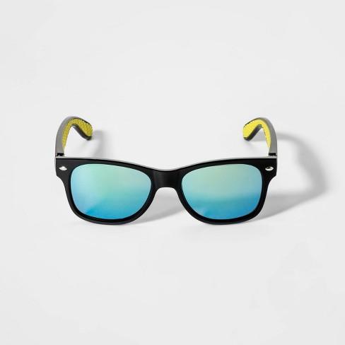 Boys' Surf Sunglasses - Cat & Jack™ Black - image 1 of 2