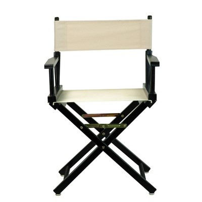 Natural Black Frame Director's Chair
