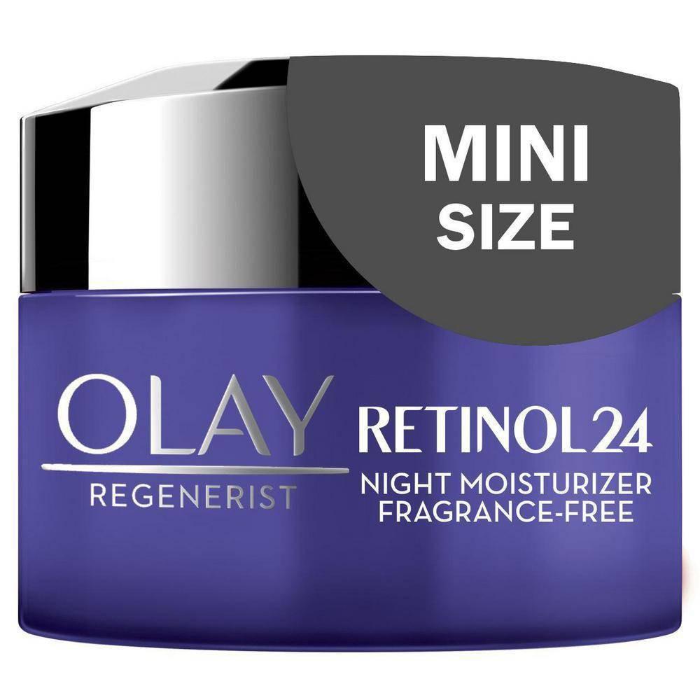 Olay Regenerist Retinol 24 Night Fragrance Free Facial Moisturizer 0 5oz