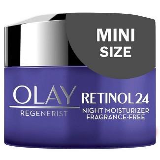 Olay Regenerist Retinol 24 Night Fragrance-Free Facial Moisturizer - 0.5oz : Target