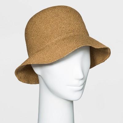 Women's Packable Straw Cloche Hat - Universal Thread™