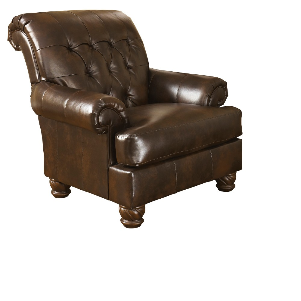 Accent Chairs Dark Cappuccino - Signature Design by Ashley