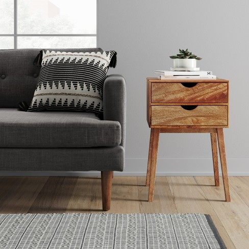 f96ad7b3d43 Mid-Century Two Drawer Accent Table - Project 62™   Target