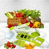 MegaChef 8 in 1 Multi-Use Slicer Dicer and Chopper with Interchangeable Blades, Vegetable and Fruit Peeler and Soft Slicer - image 3 of 4