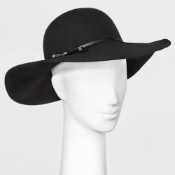 Women's Floppy Hat - A New Day™ Black One Size