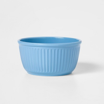 30oz Melamine Cereal Bowl Blue - Threshold™