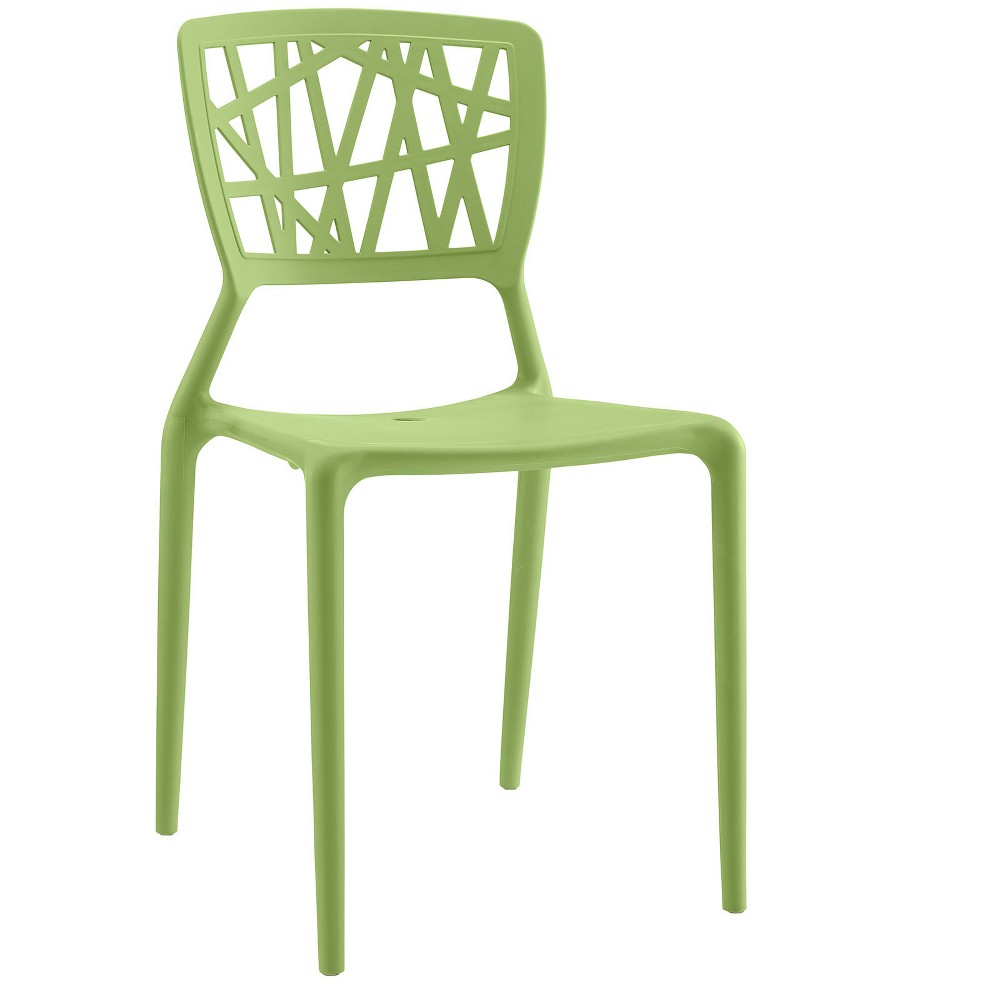 Astro Dining Side Chair Green - Modway