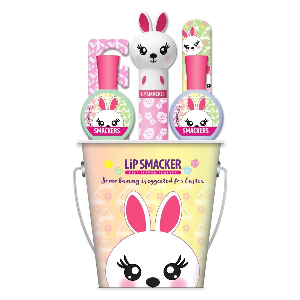 Image of Lip Smacker Easter Bucket, Bunny - 6ct