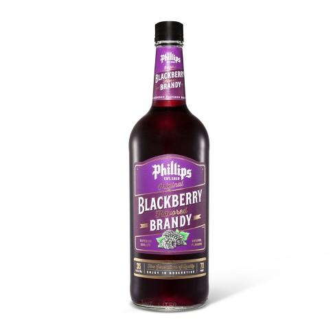 Phillips Blackberry Brandy - 1L Bottle - image 1 of 1