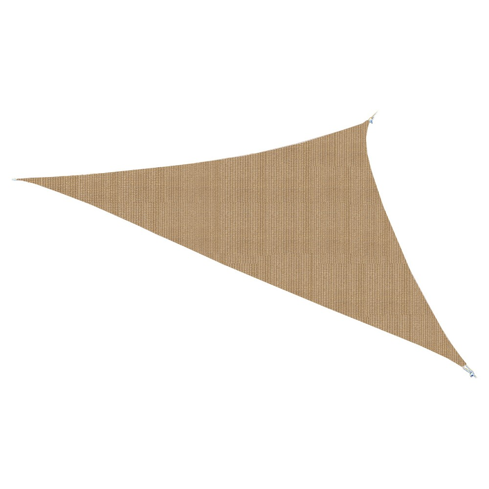 "Image of ""Ready to Hang Shade Sail 11'10"""" - Almond - Coolaroo"""
