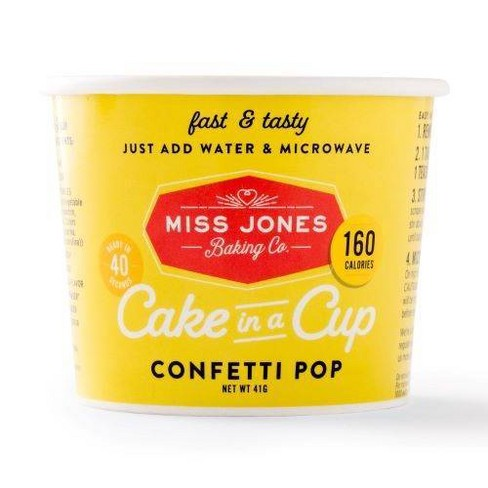 Miss Jones Confetti Pop Cake in a Cup - 1.45oz - image 1 of 4