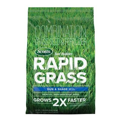 Scotts Rapid Grass Sun & Shade Mix Grass Seeds - 16lb