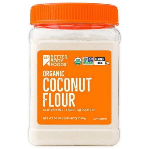 BetterBody Foods Organic Coconut Flour - 2.25lb - image 1 of 2