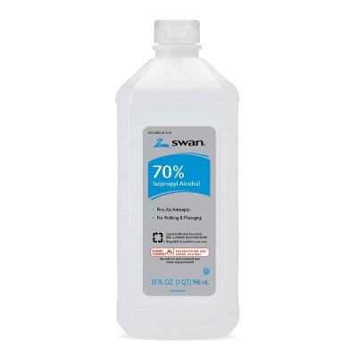 Swan 70% Isopropyl Alcohol - 32 fl oz