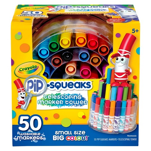 Crayola® Pipsqueaks Marker Tower, Telescoping, 50ct - Multicolor - image 1 of 5