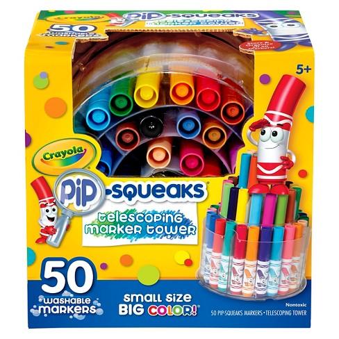 Crayola 50ct Pip Squeaks Marker Set - image 1 of 4