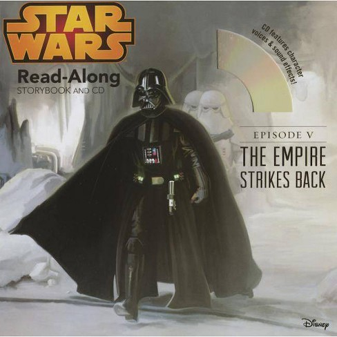 Star Wars: The Empire Strikes Back Read-Along Storybook and CD - (Paperback) - image 1 of 1