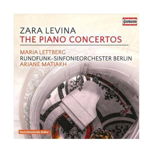 Maria Lettberg - Levina: The Piano Concertos (CD) - image 1 of 1