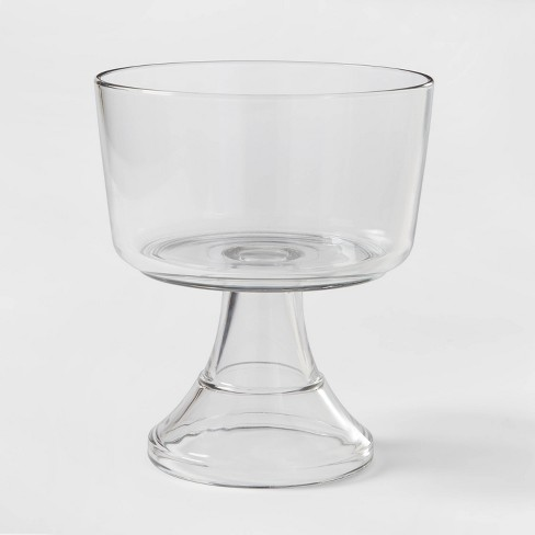 128oz Classic Glass Trifle Serving Bowl - Threshold™ - image 1 of 3