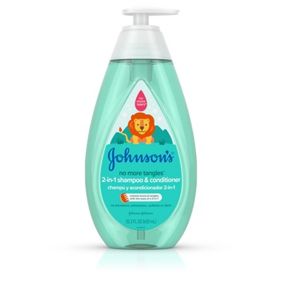 Johnson's No More Tangles 2-in-1 Shampoo and Conditioner - 20.3 fl oz