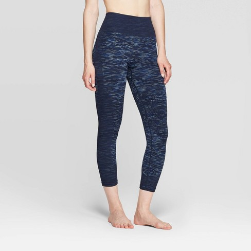 Women's High-Waisted 3/4 Seamless Leggings - JoyLab™ - image 1 of 3