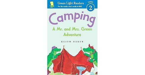 Camping : A Mr. and Mrs. Green Adventure (Hardcover) (Keith Baker) - image 1 of 1