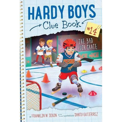 The Bad Luck Skate, 14 - (Hardy Boys Clue Book) by  Franklin W Dixon (Paperback)