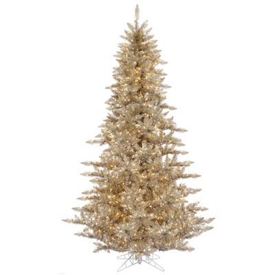 Vickerman Champagne Fir Artificial Christmas Tree