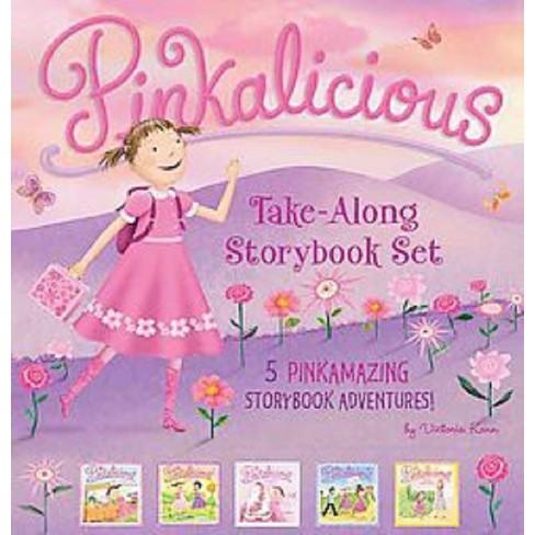 the pinkalicious take along storybook set target