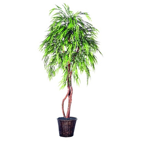 Artificial Weeping Willow Heartland (6ft) Green - Vickerman® - image 1 of 1