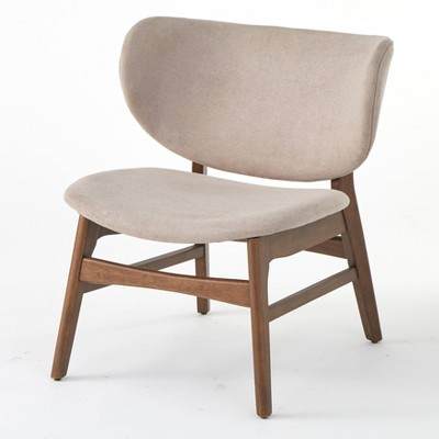 Divo Lounge Chair Taupe - Lifestorey