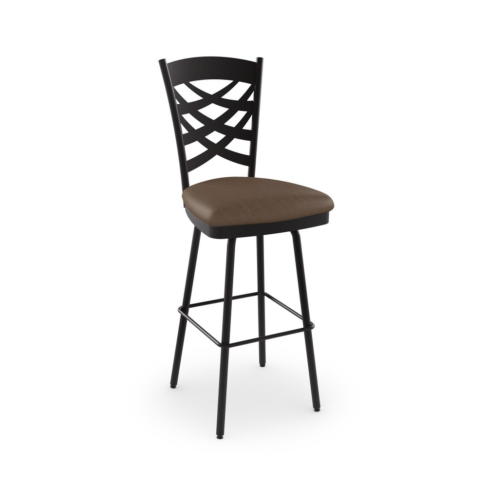 Amisco 26 Nest Counter Stool Rich Brown