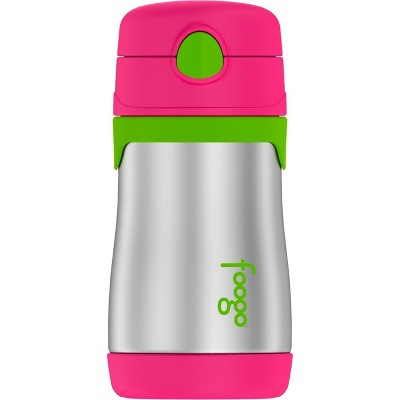 Thermos Vacuum Insulated Straw Bottle 10oz - Pink